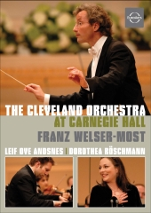 Album artwork for THE CLEVELAND ORCHESTRA AT CARNEGIE HALL
