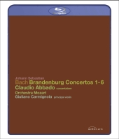Album artwork for Abbado: Brandenburg Concertos 1-6