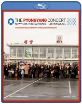 Album artwork for Pyongyang Concert - BLU-RAY