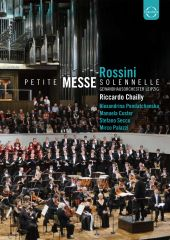 Album artwork for Rossini: Petite Messe Solennelle / Chailly