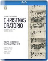 Album artwork for Bach: Christmas Oratorio / Herreweghe