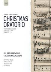 Album artwork for Bach: Christmas Oratorio - Herreweghe