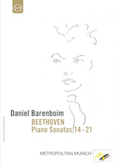 Album artwork for Beethoven: Piano Sonatas Nos. 14-21 / Barenboim
