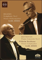 Album artwork for Brahms: Symphony 2 / Beethoven: Piano Concerto 4