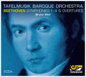 Album artwork for Beethoven: Symphonies 1-4 / Weil, Tafelmusik