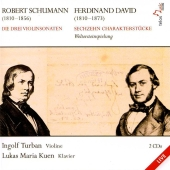 Album artwork for SCHUMANN: VIOLIN SONATAS; VIOLIN & PIANO