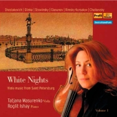 Album artwork for Tatjana Masurenko: White Nights, Viola Recital