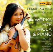 Album artwork for Peijun Xu: Works for Viola & Piano