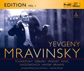 Album artwork for Mravinsky Edition, Vol. 1