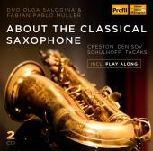 Album artwork for ABOUT THE CLASSICAL SAXOPHONE
