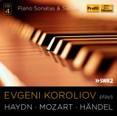 Album artwork for Haydn, Mozart & Handel: Piano Sonatas & Suites