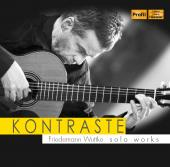 Album artwork for Kontraste: Friedemann Wuttke Solo Works