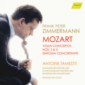 Album artwork for Mozart: Violin Concertos Nos 2 & 5 - Sinfonia Conc