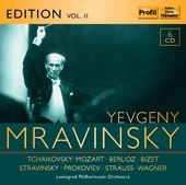Album artwork for Evgeny Mravinsky Edition, Vol. 2: Tchaikovsky, Moz
