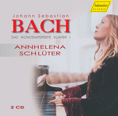 Album artwork for Bach: The Well-Tempered Clavier, Book 1