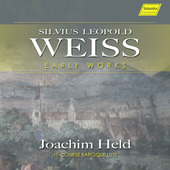 Album artwork for Weiss: Early Works / Joachim Held