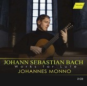 Album artwork for J.S. Bach: Works for Lute / Monno