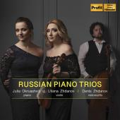 Album artwork for Russian Piano Trios