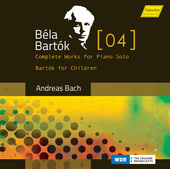 Album artwork for Bartók: Complete Works for Piano Solo, Vol. 4 - B