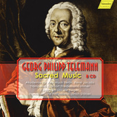 Album artwork for Telemann: Sacred Music