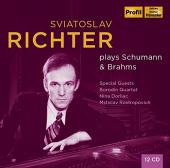 Album artwork for Sviatoslav Richter Plays Schumann & Brahms