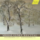 Album artwork for Glinka: Song Recital