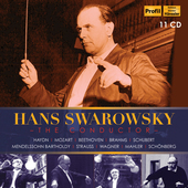 Album artwork for Hans Swarowsky - The Conductor