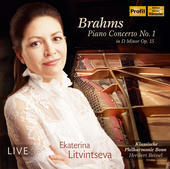 Album artwork for Brahms: Piano Concerto No. 1 in D Minor, Op. 15 (L