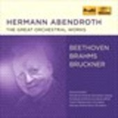 Album artwork for Hermann Abendroth - The Great Orchestral Works