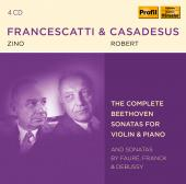 Album artwork for Beethoven: Violin Sonatas / Francescatti & Casades