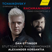 Album artwork for Dan Ettinger & Stuttgarter Philharmoniker: Tchaiko