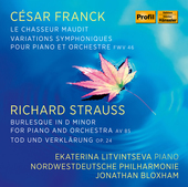 Album artwork for Ekaterina Litvintseva plays Cesar Franck & Richard