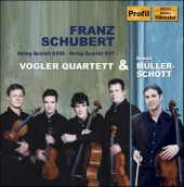 Album artwork for STRING QUINTET IN C MAJOR / STRING QUARTET IN E FL