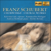 Album artwork for SCHUBERT - CHORAL WORKS