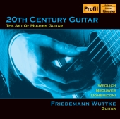 Album artwork for 20th Century Guitar (Wuttke)