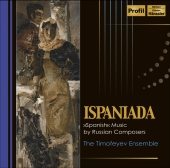 Album artwork for Ispaniada (Spanish music by Russian Composers)