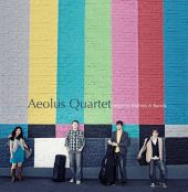 Album artwork for AEOLUS QUARTET PERFORMS BRAHMS