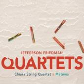 Album artwork for JEFFERSON FRIEDMAN QUARTETS