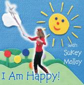 Album artwork for I AM HAPPY! WITH SUKEY MOLLOY
