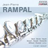 Album artwork for Jean-Pierre Rampal: Flute Concertos (4CD set)