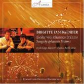 Album artwork for Brahms: Lieder / Fassbaender
