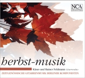 Album artwork for Autumn Music : Contemporary Giutar Music by Berlin