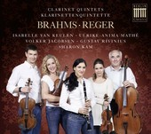 Album artwork for Brahms & Reger: CLARINET QUINTETS