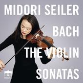 Album artwork for Bach: VIOLIN SONATAS / Midori Seiler