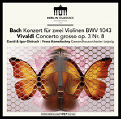 Album artwork for VIOLIN CONCERTOS (VINYL)