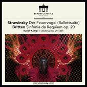 Album artwork for STRAVINSKY & BRITTEN