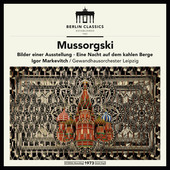 Album artwork for MUSSORGSKY: PICTURES AT AN EXH
