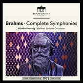 Album artwork for BRAHMS: COMPLETE SYMPHONIES / Herbig