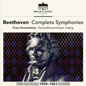 Album artwork for Beethoven: COMPLETE SYMPHONIES / Konwitschny