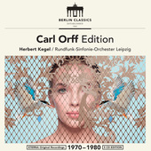 Album artwork for CARL ORFF EDITION